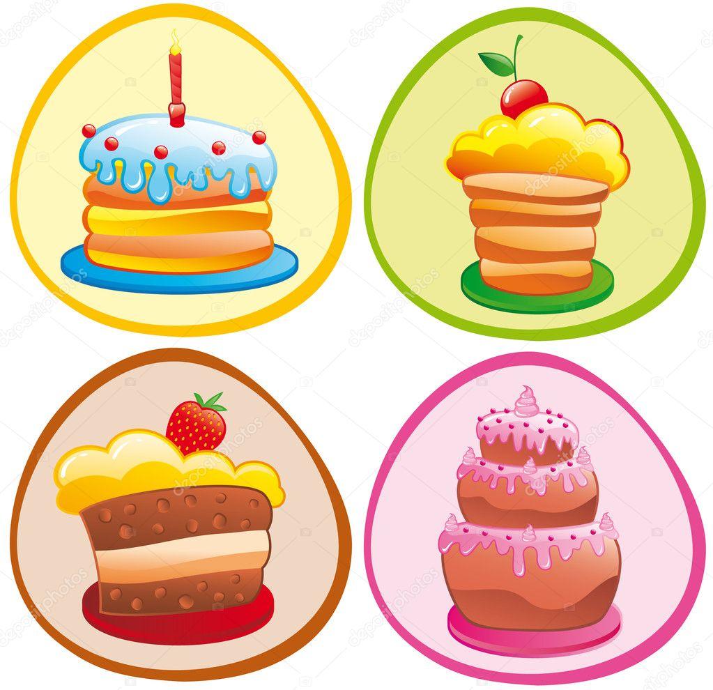 香甜的月饼 — 图库矢量图片 #5873507