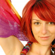 Stock Photo: Red hair