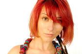 红头发 — 图库照片