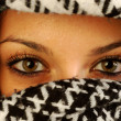 Stock Photo: The eyes of Kefiah 002