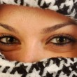 Stock Photo: The eyes of Kefiah 004
