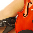 Women and musical instrument 013 - Stock Photo