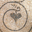 Heart - Mosaic (detail) - Stock Photo