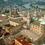 Landscape of Salzburg - Salzburg - Austria — Stock Photo