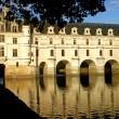 The castle of Chenonceaux - France - Stock Photo