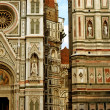 Royalty-Free Stock Photo: The facade of Santa Maria del Fiore in Florence
