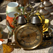 The flea market in Vienna - Austria - Stock Photo