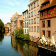 River Ill in Petite France - Strasbourg - France — Stock Photo #6063232