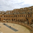 Stock Photo: RomColiseum of El Jem - Tunisia