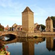 The Two Towers - Petite France - Strasbourg - France — Stock Photo