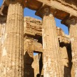 The Valley of the Temples in Agrigento (detail) - Sicily - Stok fotoraf