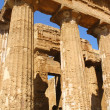 The Valley of the Temples in Agrigento (detail) - Sicily — Stok fotoğraf
