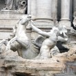 Trevi Fountain - Detail - Rome — Stock Photo