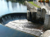 Hydroelectric - Huelgoat - Brittany - France — Stock Photo