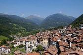 Landschaft von bagolino — Stockfoto