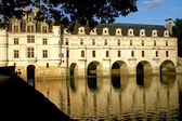 The castle of Chenonceaux - France — Stock Photo