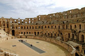 The Roman Coliseum of El Jem - Tunisia — Stock Photo