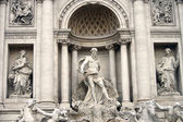 Trevi Fountain - Rome - Italy — Stock Photo
