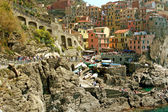 View of Manarola (Cinque Terre - Liguria) — Stock Photo