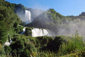 Blick auf die Marmore Wasserfälle — Stockfoto