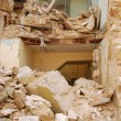 The rubble of the earthquake in Abruzzo (Italy) — Stockfoto