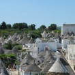 The Trulli of Alberobello - Apulia - Italy - Stock Photo