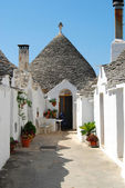 The Trulli of Alberobello - Apulia - Italy — Stock Photo