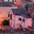 "The ""Sassi of Matera"" at sunset — Stock Photo #6716440"