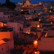 "The ""Sassi of Matera"" at sunset — Stock Photo #6717146"