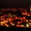 "The ""Sassi of Matera"" at night — Stock Photo #6717315"