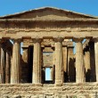 The Temple of Concord - Agrigento - Sicily - Stock Photo