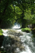 Marmore waterfalls and mountain scenery 006 — Stock Photo
