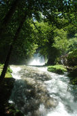 Marmore waterfalls and mountain scenery 012 — Stock Photo