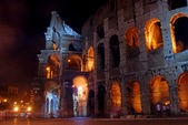 The Colosseum by Night - Rome — Stock Photo