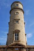 Stara latarnia morska gatteville - normandia - francja — Zdjęcie stockowe