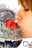 Air of Christmas and air of gifts — Stock Photo