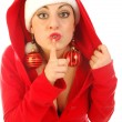 Do not upset Santa Claus — Stockfoto