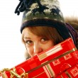 Full of gifts — Stock Photo