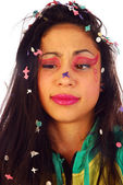 Karneval make-up — Stock fotografie