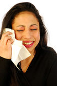 Crying or cold 008 — Stock Photo