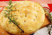 Italian Focaccia 010 — Stock Photo