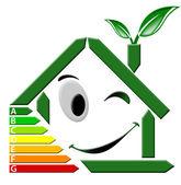 Certificazione energia — Stockfoto