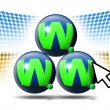World wide web — Stock Photo #5803266
