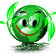 Stock Photo: World tree smile