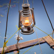 Lantern on the water - Stockfoto