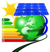 Risparmio energetico — Stockfoto