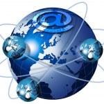 World Wide web — Stockfoto