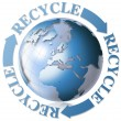 Stock Photo: World recycle