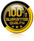 100 percent Quality Guarantee — Stockfoto