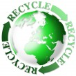 Stockfoto: World recycle